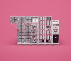 10 ordinateurs historiques célèbres aux designs d'avant garde conçus parfois en très petites quantités photographiés dans leur plus simple appareil.