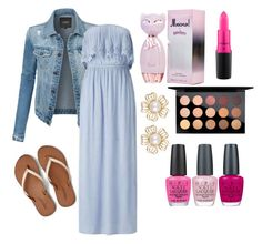 TO THE MALL by zahrasayyid on Polyvore featuring polyvore fashion style Miss Selfridge LE3NO American Eagle Outfitters MAC Cosmetics OPI clothing