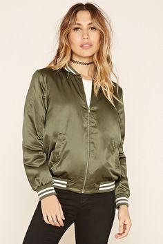 Sheeny Padded Varsity Jacket
