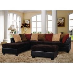 Long Island 2 Piece Sectional and Ottoman Sale