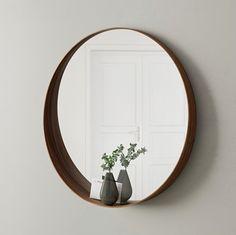 Spiegel Stockholm Ikea rond met boord Blog Zoet wonen Interieur Decoratie Inspiratie