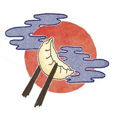 Dumpling illustration (Melanie Kwan)