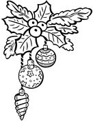 Christmas Ornaments Coloring Page From Decoration Category Select 27710 Printable Crafts Of Cartoons Nature Animals Bible And Many More