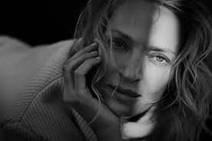 Uma Thurman shot by Peter Lindbergh, New York Uma Thurman, Peter Lindbergh, Linda Evangelista, Christy Turlington, Jessica Chastain, Cindy Crawford, Naomi Campbell, History Of Photography, Portrait Photography