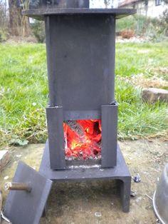 Mini miniture small Wood Burner stove wood fire woodburner Micro shed van boat. Love the door on this.