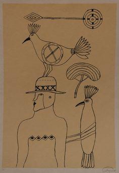 Luis Pastrana. Sin título. Serigrafía, 1/50, 50 x 25 cm. $2,500 mn