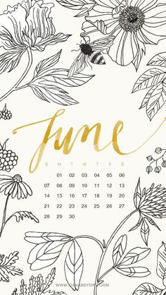 simply-divine-creation: iPhone June calendar by oanabefort on Flickr (cc)