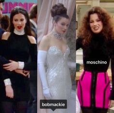 Fran Drescher as Fran Fine in The Nanny which won a Primetime Emmy for Outstanding Individual Achievement in Costuming for a Series in 1995 The Nanny, Fran Drescher, Clueless Outfits, Girl Outfits, Fashion Tv, Fashion Outfits, Miss Fine, Fran Fine Outfits, Nanny Outfit