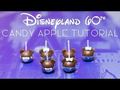 Spotted! Miniature Disneyland Diamond Celebration Candy Apples… and How YOU Can Make Them, Too! | the disney food blog