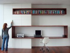 Top 10 Stunning Home Office Style Home Office Space, Home Office Design, Interior Architecture, Interior Design, Study Nook, Pinterest Home, Cabinet Design, Cool Walls, Office Interiors