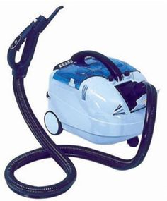 Osprey Robby Steam `n' Vac Steam Cleaner - The Robby Steam and Vac is a hygienic steam and vacuum machine and can be used to clean a wide range of environments. Plus, the vacuum does not require a dust bag, but instead uses a water filtration system that eliminates dust mites and smells!