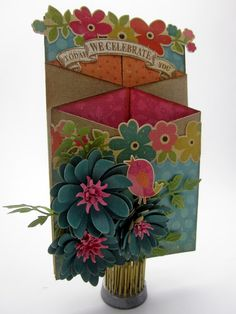 Pinkcloud Scrappers: Cascading Card Tutorial