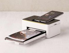 In addition to beautiful full-color, the Kodak #smartphone Printer also offers stunning black and white.