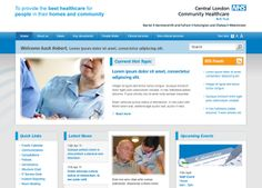 NHS intranet Intranet Design, People Finder, Kensington And Chelsea, Westminster, Hot Topic, Communication, Health Care, Web Design, Ideas