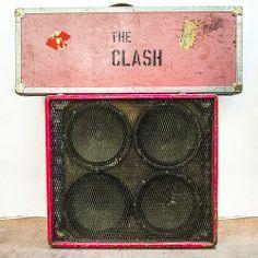 The Clash Speaker Cabinet and Joe Strummer's Guitar Case