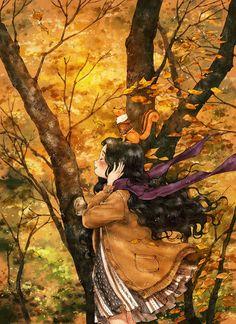 가만히 귀 기울여 들어보세요. 나뭇가지의 수많은 잎들이 한들거리는 소리는,  바람이 그들의 몸을 빌려 전하고픈 이야기가 아닐까요?  Be still and listen carefully. The sound of innumerable leaves shaking on the tree branches, don't you think the wind is sharing the story they wish by borrowing their bodies?