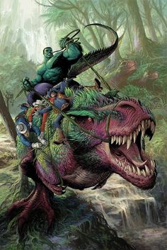 Hulk vs Dinosaur~