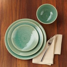 Jars Tourron Salad Plates, Set of 4, Jade