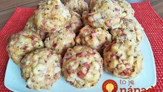 Slovak Recipes, Dumplings, Baked Potato, Cauliflower, Side Dishes, Food And Drink, Menu, Bread, Pizza