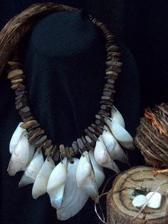 2017-19 Trends: Pearl's Shells Necklace by Patricia Moura Biojoias