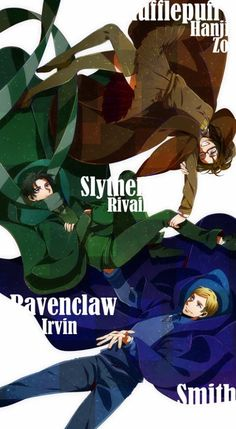 harry potter attack on titan crossover - Google Search