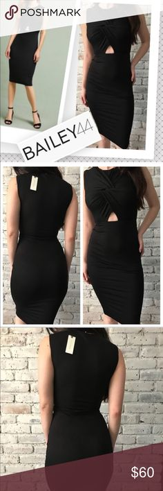 💜Bailey 44 Sexy Black Dress😍 See last pic for info, Priced to Sell Bailey 44 Dresses Midi