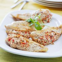 Feta-Stuffed Chicken Breasts