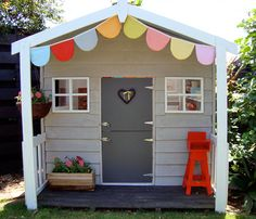 A Dream Playhouse with Colorful Style