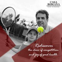 Tennis Court at Casa Romana