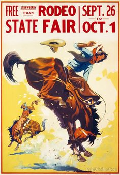 Tribal Horse Coloring Poster Best Of 1930 Rodeo Bucking Bronco Vintage Repro Horse Art Print Poster Images Vintage, Vintage Posters, Vintage Signs, Vintage Ads, Vintage Prints, Vintage Banner, Vintage Artwork, Vintage Pictures, Cowboy Horse
