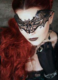 So want the bat mask.