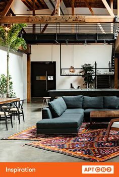 I love this Moroccan-modern feel--and so much inspiration for an outdoor space here, too. #APTCB2 #inspiration