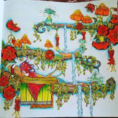 finally finished ✔☺#fairlesindreamland #denyseklette #coloringbooksforadult