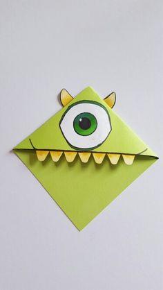 Handmade Mikey Style Bookmark