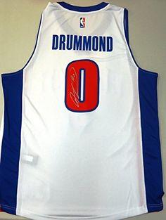 Detroit Pistons Autographed Jerseys Andre Drummond 38437aa18