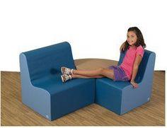 Children's Factory Bigger Age Contour Woodland Soft Furniture 3pc Set