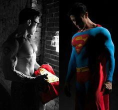 Danny Kelley does the best Superman cosplay.