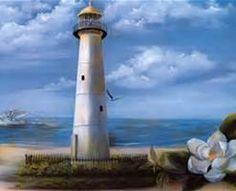 "Biloxi Lighthouse II"" ""Pride of Mississippi"""