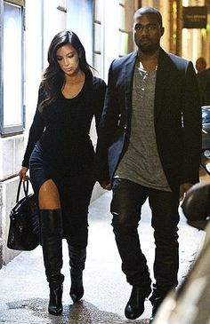 Kim Kardashian and Kanye West Look Kylie Jenner, Kendall Jenner Outfits, Jenner Style, Look Kim Kardashian, Estilo Kardashian, Kardashian Fashion, Look Fashion, Fashion Outfits, Womens Fashion