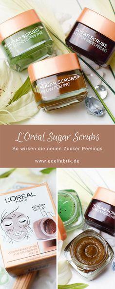 L'Oréal Paris Sugar Scrubs – Die neuen Peelings mit Zucker | Review