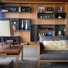 Modelo estante. Apartamento interiores e decoração by RoccoVidal