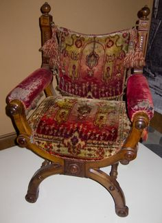 This chair would work well in a Gypsy Wagon.