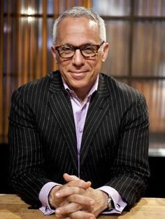 Some people may go for George Clooney, but my secret older-man crush is Food Network chef Geoffrey Zakarian. Those glasses put him over the top!