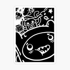 My Canvas, Canvas Prints, Art Prints, Adventure Time Merchandise, Friend Canvas, Sumi Ink, Decorate Notebook, Glossier Stickers, Sticker Design