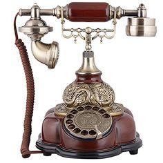 Pierre Antique europeo retrò rotante telefono casa disco fisso antico vintage regalo creativo di moda HLGOOD TEL http://www.amazon.it/dp/B00ZKH5ILE/ref=cm_sw_r_pi_dp_5BSgwb0KQZYVT
