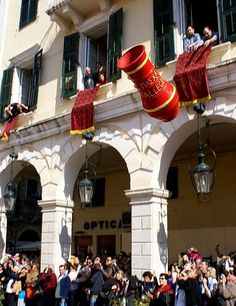 Easter in Kerkyra town, Corfu Island, Greece https://www.myguidegreekislands.com