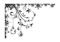 IndigoBlu Cling Stamp - Frosted Baubles, The Stamp Simply Ribbon Store