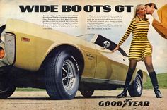 Goodyear encountered an interesting law suit concerning this 1969 campaign. Google it.
