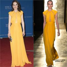 Michelle Dockery in Cushnie et Ochs at the 2016 White House Correspondents' Association Dinner