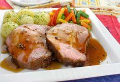 Filet de porc, sauce à l'orange et au gingembre #Recettes Pork Recipes, Cooking Tips, Mashed Potatoes, Crockpot, Steak, Good Food, Keto, Sauce, Ethnic Recipes